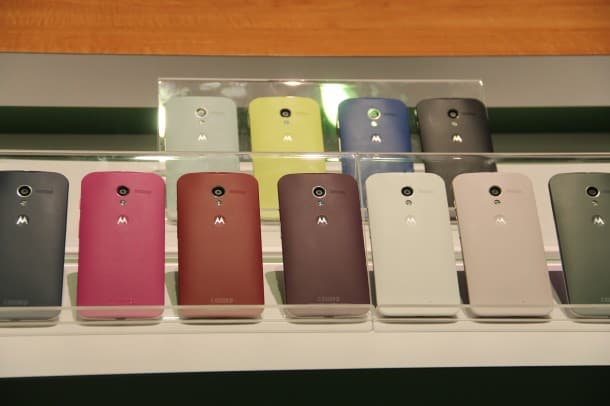 Moto X: You can have any color you like - as long as it's not black.