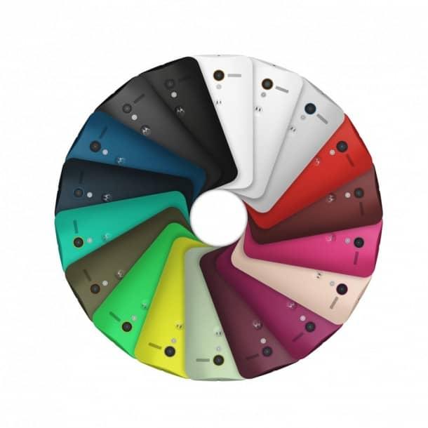 Moto X: Mid-range phone with high end marketing.
