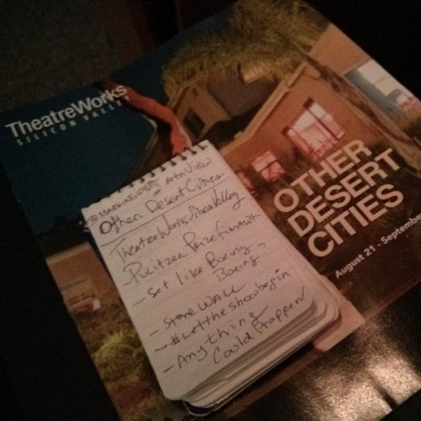 TheatreWorks - Other Desert Cities - Mountain View