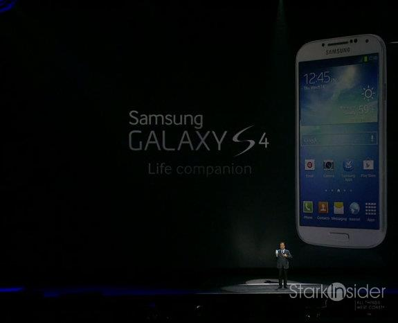Samsung launched the S4 Android smartphone earlier this year to much fanfare, and praise.