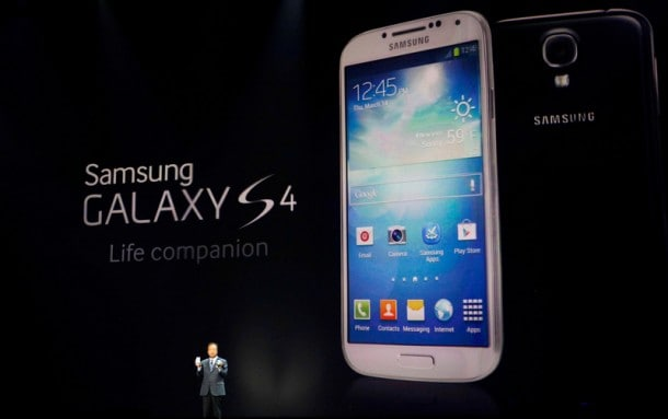 Phones such as the Galaxy S 4 have helped Samsung outsell the competition.