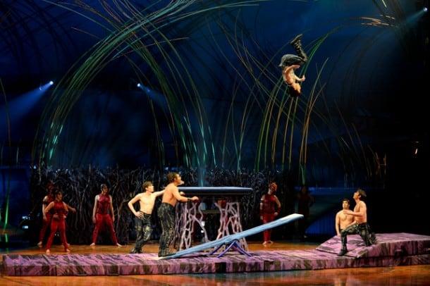 Teeterboard - Cirque du Soleil