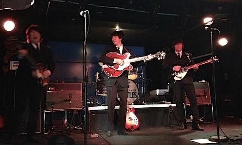 Beatle Wannabees at The Cavern Club
