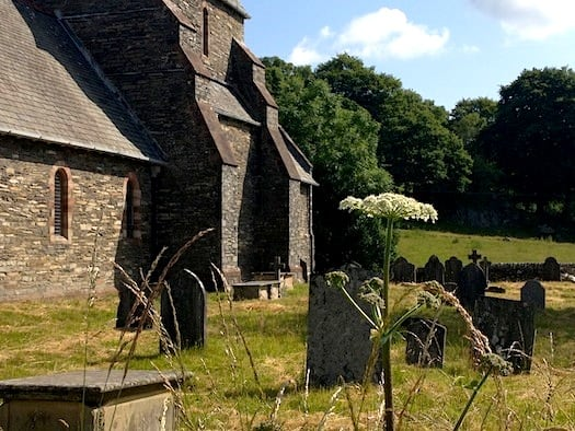 So many atmospheric old churches