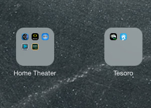 Apple iOS 7 on iPad Mini - Ugly Folders
