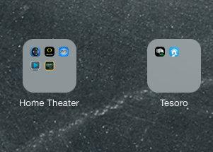 Apple iOS 7 on iPad Mini - Ugly Folders