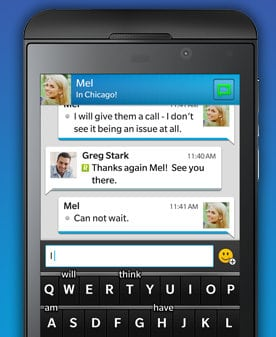 BBM is coming to Android and iOS. But the market for messaging services is far more competitive.