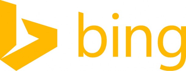 Flat is in. New Microsoft Bing logo: Look, mom, no more bevels, shadows and textures!