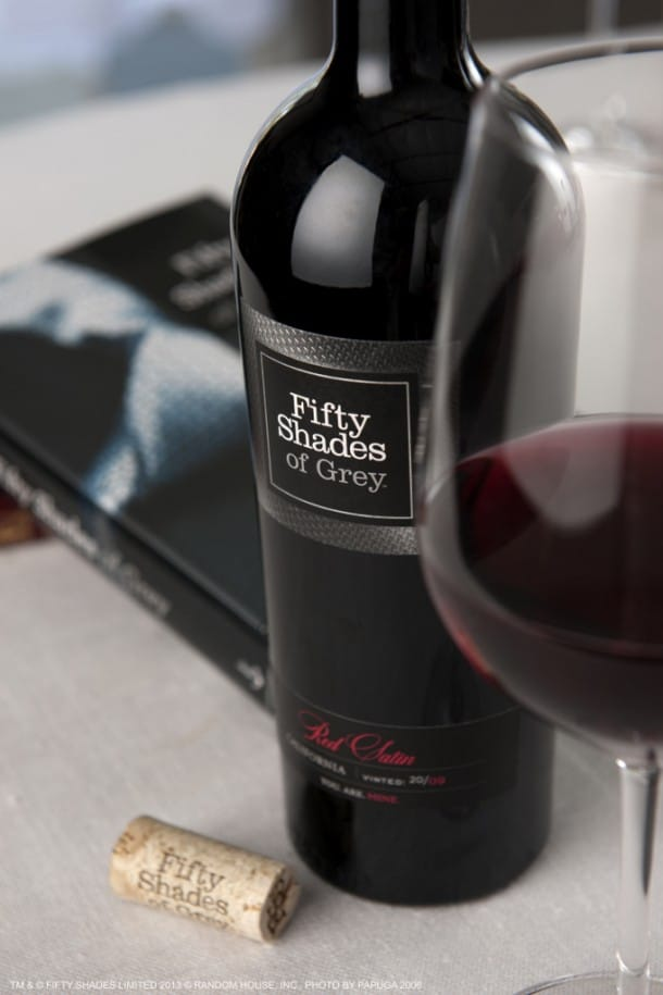 Fifty Shades Red Wine