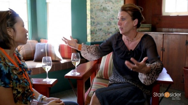 Gina Gallo talks about hard work, the wine business