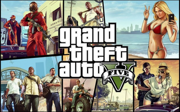 Video game Grand Theft Auto smashed sales records after being on the market for just one day.