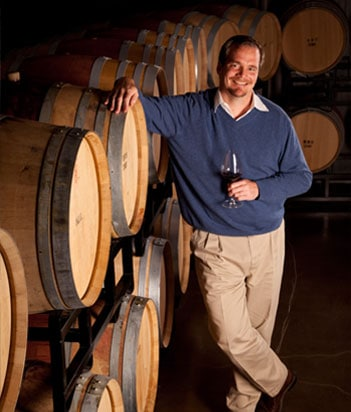 Winemaker Jean Hoefliger of Alpha Omega, Napa.