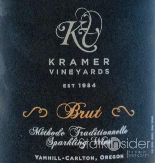2009 Kramer Vineyards Brut Review