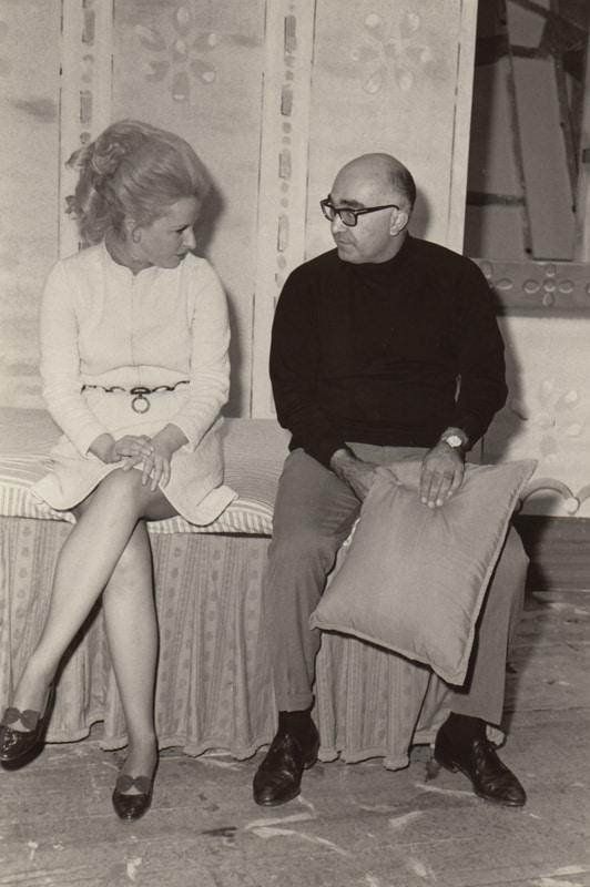 Lotfi Mansouri and Mary Costa  Fra Diavlo at San Francisco Opera, 1968.