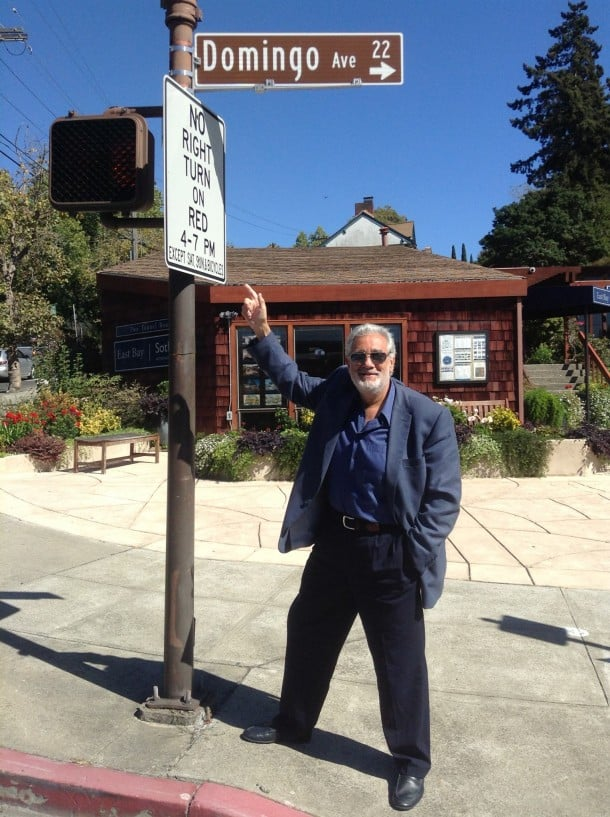 Placido Domingo was spotted walking around Berkeley. (Photo: Another Planet Entertainment)
