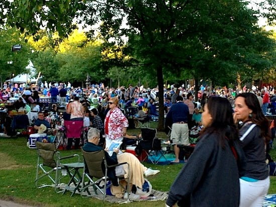 Ravinia Festival packs them in