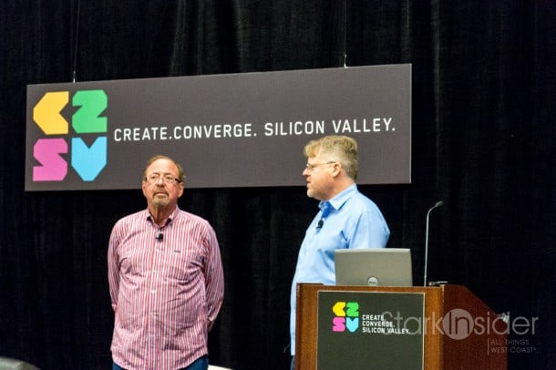 Shel Israel and Robert Scoble discuss the age of context, this morning in Silicon Valley.