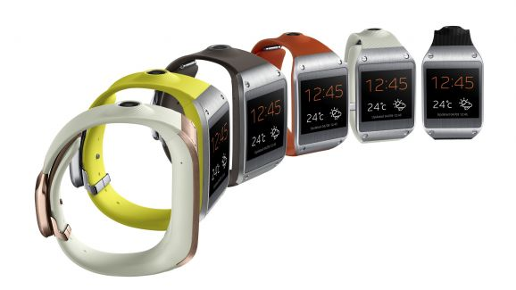 """Who's zooming who? Will Apple follow in Samsung's """"footsteps"""" and release a smartwatch of its own? Or did Apple lead Samsung down the garden path...?"""