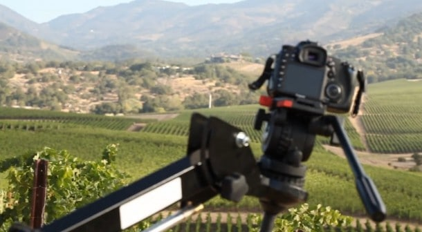 Wine Video DSLR Rig
