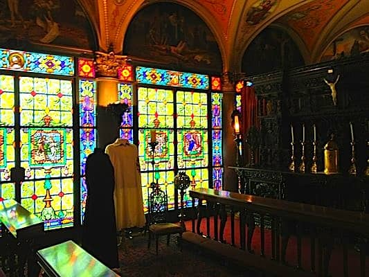 Cuneo's private chapel