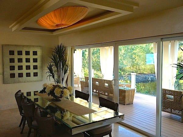 Watermark dining room