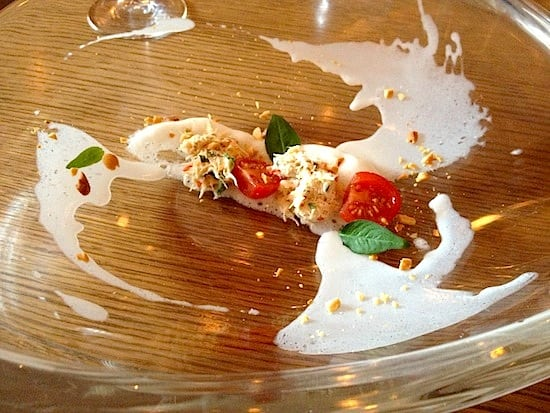 Light crab dish opening