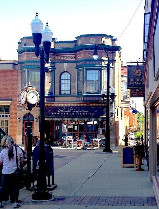 Quaint town corner