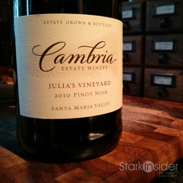 2010 Cambria Estate Winery Pinot Noir