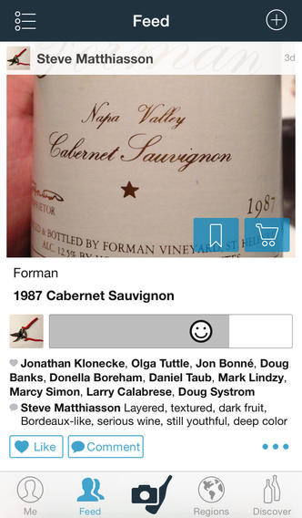 Delectable Mobile Wine App