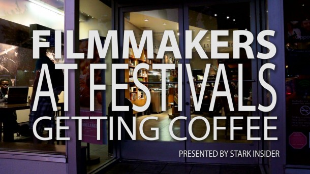 Filmmakers at Festivals Getting Coffee - Director Jonathan Cenzual Burley