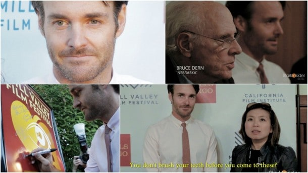 Nebraska - Will Forte, Bruce Dern Interview