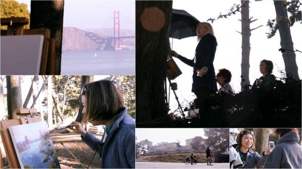 How to paint the Golden Gate Bridge, San Francisco