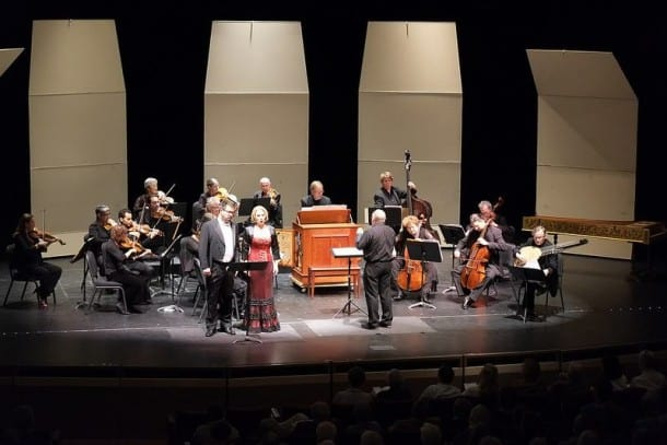 Philharmonia Baroque Orchestra: David Daniels and Carolyn Sampson.
