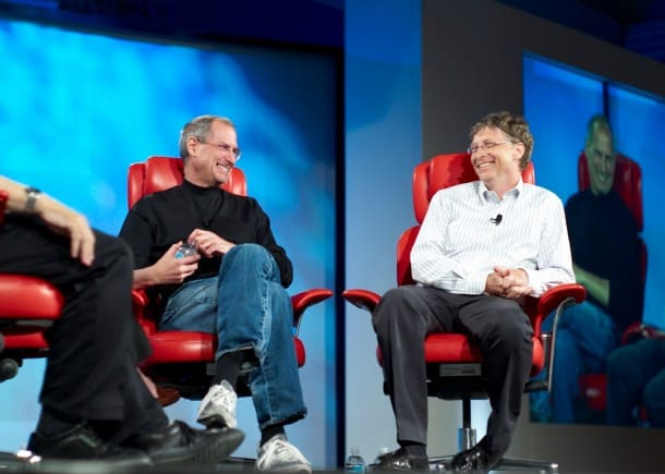 Steve Jobs vs. Bill Gates - Who was first?