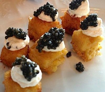 Popping good caviar