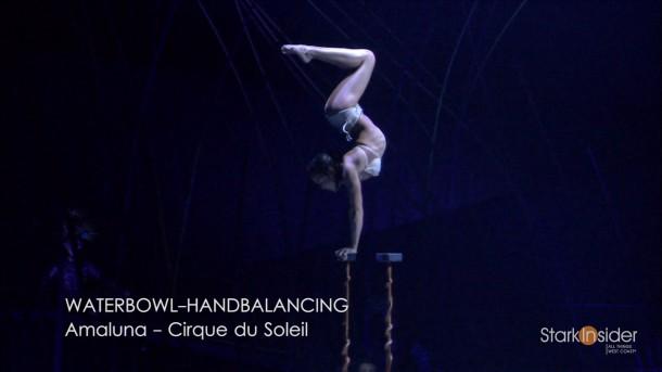 Waterbowl - Amaluna by Cirque du Soleil (Video)