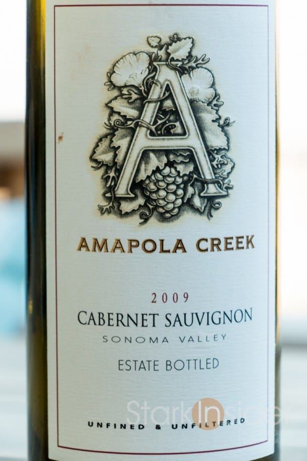 Wine Review - Amapola Creek 2009 Cabernet Sauvignon, Sonoma Valley