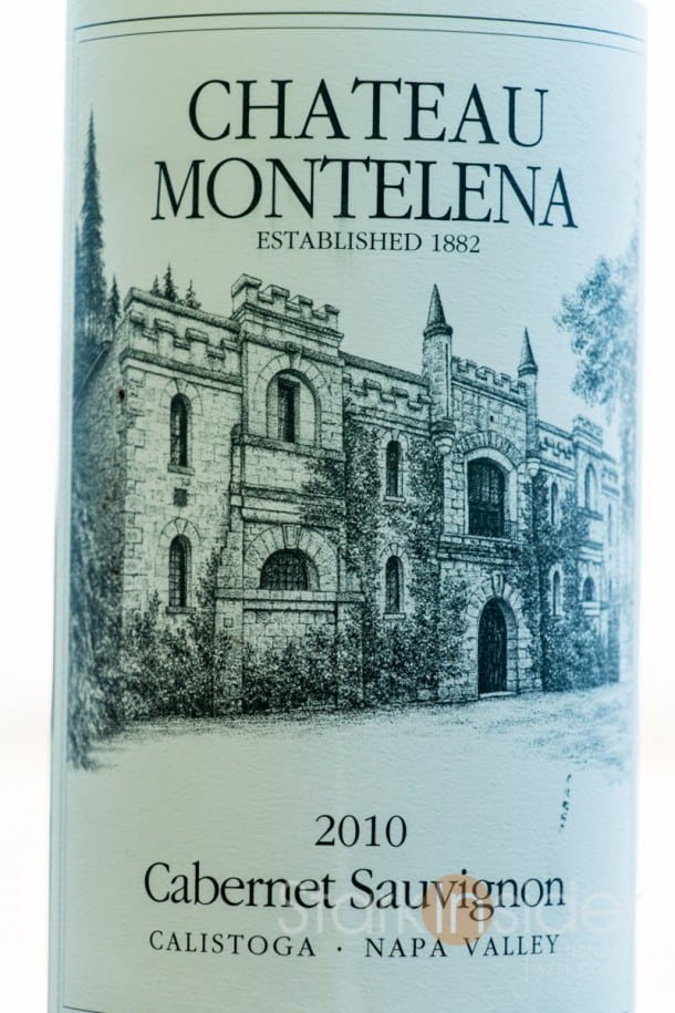 Wine Review - Chateau Montelena 2010 Cabernet Sauvignon, Napa Valley
