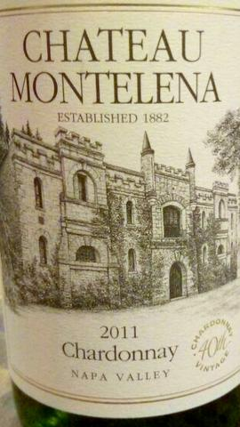Wine Review: Chateau Montelena 2011 Chardonnay, Napa Valley