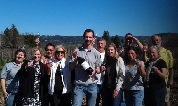 Chris Cooney celebrated his  10th anniversary as winemaker for Hewitt Vineyard earlier this year. Now his Cabernet has been named 4th best wine of 2013.