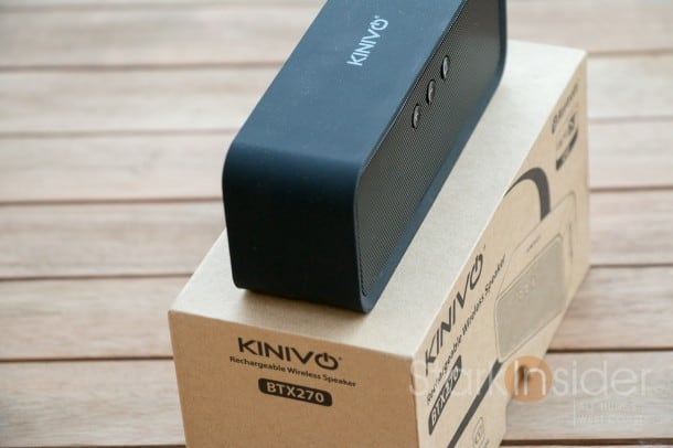 Kinivo BTX270 Bluetooth Speaker Review