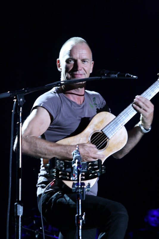 Sting and Paul Simon, On Stage Together, San Jose