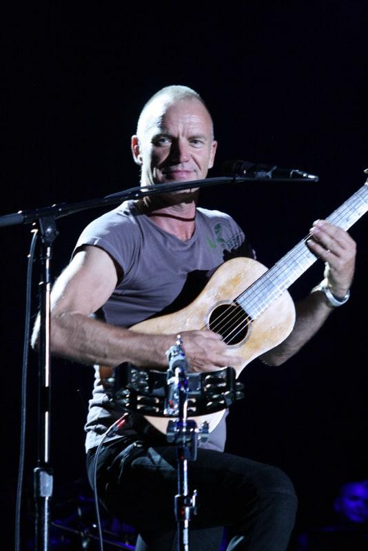 Sting and Paul Simon, On Stage Together, San Jose