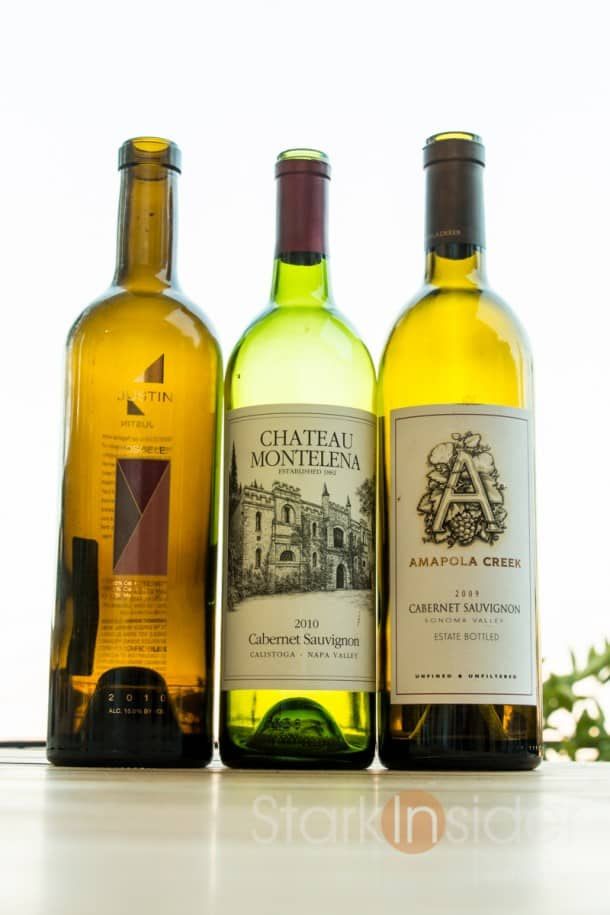 Recommended Wines from Napa, Sonoma and Paso Robles