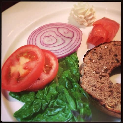 This lox was just my breakfast starter ;-)