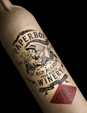 Paperboy Red Blend, Paso Robles, GreenBottle