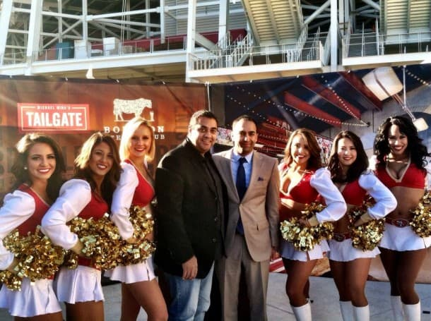 Michael Mina with San Francisco 49ers - Levi's Stadium