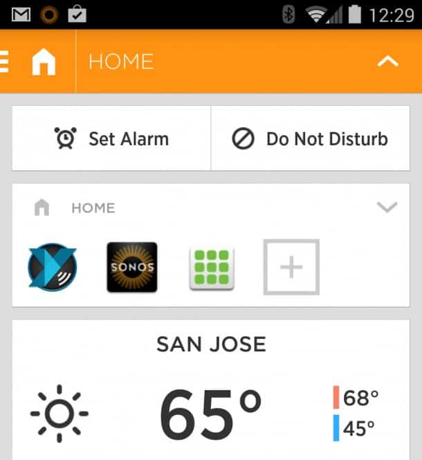 Aviate Home Screen Replacement