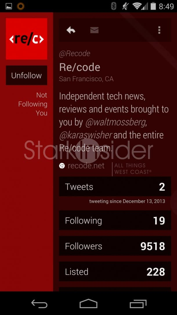 Carbon Twitter App for Android