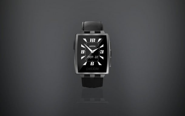 Pebble Steel was unveiled today at CES in Las Vegas.